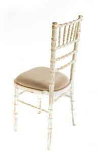 Limewash chiavari chair hire - Blue Goose Hire