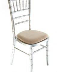 Silver chiavari chair hire - Blue Goose Hire